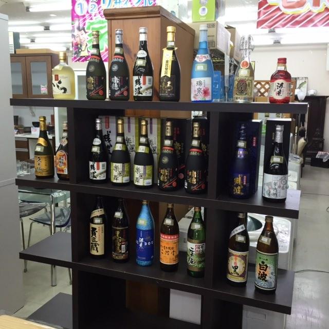 お酒も買取ます!沖縄のリサイクルショップ!