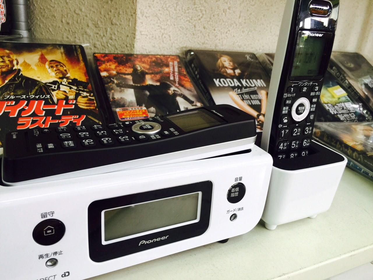 未来型電話機!!