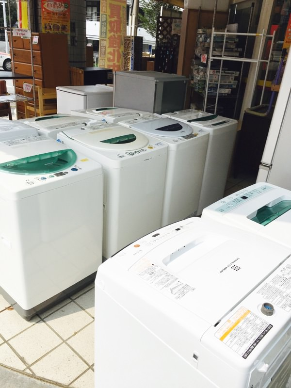 冷蔵庫&洗濯機が入荷!!