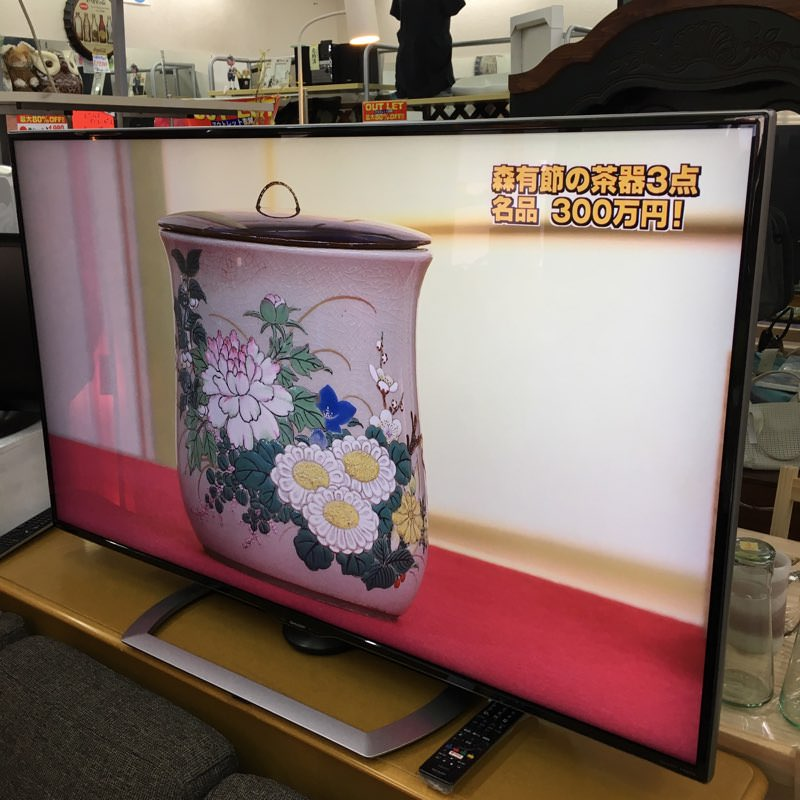 SHARP55v4K対応テレビ入荷しました❗️