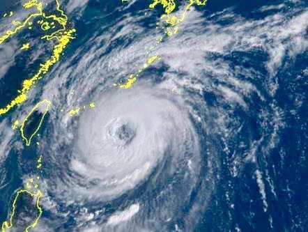 台風24号接近🌀
